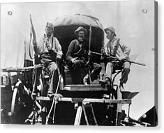 Afrikaners On Wagon Acrylic Print by Henry Guttmann Collection