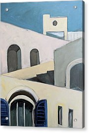 After De Chirico Acrylic Print