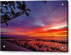 After Sunset Vibrance Acrylic Print