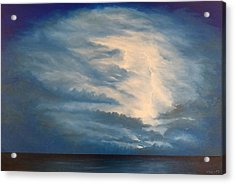 Acrylic Print featuring the painting After The Storm by Kevin Daly