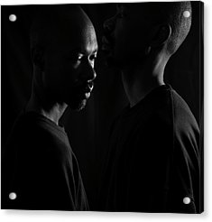 Acrylic Print featuring the photograph Against The Wall by Eric Christopher Jackson