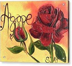 Agape Love Acrylic Print