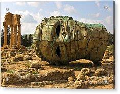 Agrigento, Sicily. Famous Valle Dei Acrylic Print