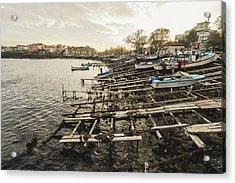 Ahtopol Fishing Town Acrylic Print