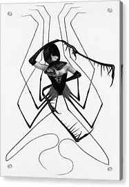 Aiko The Mistress Noir - Artwork Acrylic Print