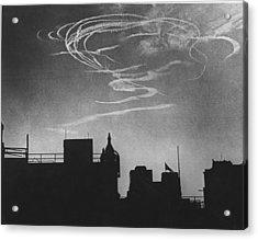 Air Raid Pattern Acrylic Print by David Savill
