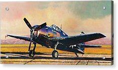 Airshow Hellcat Acrylic Print