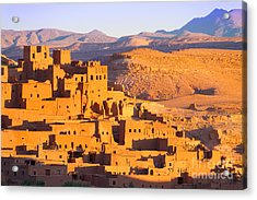 Ait Benhaddou,fortified City, Kasbah Or Acrylic Print