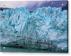 Alaskan Blue Glacier Ice Acrylic Print