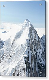 Alaskan Peak Acrylic Print by Earleliason