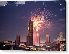 Albany Fireworks 2019 Acrylic Print