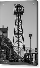 Alcatraz Light House Acrylic Print