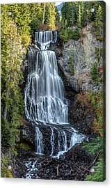 Acrylic Print featuring the photograph Alexander Falls Of The Callaghan Valley by Pierre Leclerc Photography