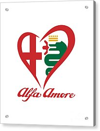Alfa Amore Acrylic Print