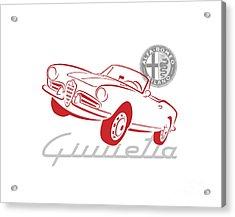 Alfa Giulietta Spider-1 Acrylic Print
