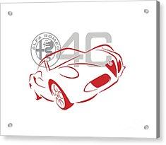 Alfa Romeo 4c-1 Acrylic Print