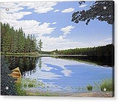Algonquin Portage Acrylic Print