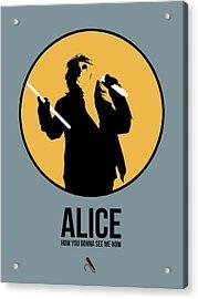 Alice Cooper II Acrylic Print