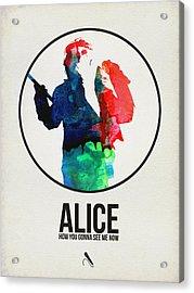 Alice Cooper Acrylic Print