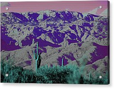 Alien Colors On Mount Lemmon Acrylic Print