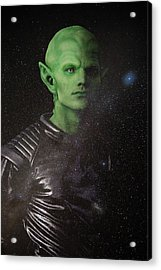 Acrylic Print featuring the photograph Alien by Nicole Young