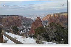 All About The Depth Acrylic Print