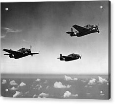 All Purpose Bomber Acrylic Print by Hulton Archive