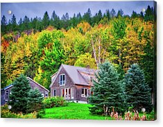 Acrylic Print featuring the photograph All Snuggled In by Lynn Bauer