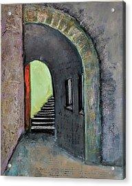 Alley Jaffa Acrylic Print