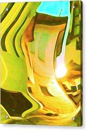 Alley Acrylic Print by Nicholas V K