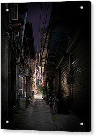Alleyway On Old West Street Acrylic Print