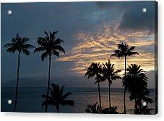 Aloha And Goodbye Acrylic Print