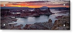 Acrylic Print featuring the photograph Alstrom Point by Edgars Erglis