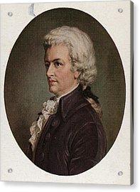 Amadeus Acrylic Print by Hulton Archive