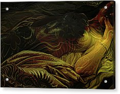 Amber Light Acrylic Print