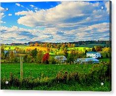 Amish Farm Beauty Acrylic Print