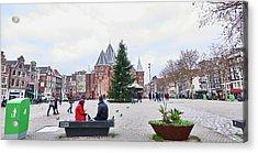 Amsterdam Christmas Acrylic Print