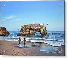 An Adventure On The Beach Acrylic Print