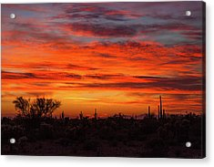 An Arizona Sky Acrylic Print