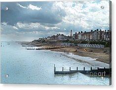 An English Beach Acrylic Print