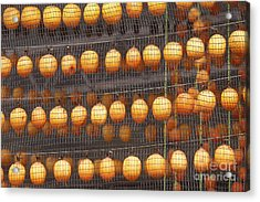 An Image Of Dried Persimmon Acrylic Print