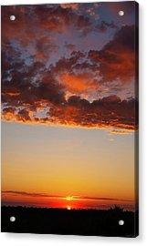 An Oklahoma Sunsrise Acrylic Print