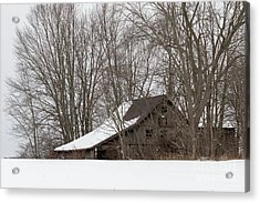 Ancient Barn Acrylic Print