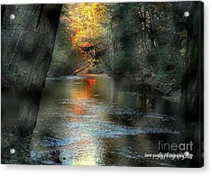 And Autumn Comes  Acrylic Print