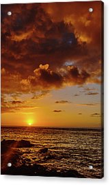 And Then The Sun Set Acrylic Print