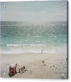 Andros Island Acrylic Print by Slim Aarons