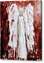 Angel Against Violence Acrylic Print