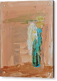 Angel Boy In Time Out  Acrylic Print
