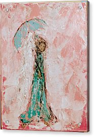 Angel By Your Side Acrylic Print