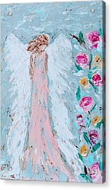 Angel For Childbirth And Acrylic Print